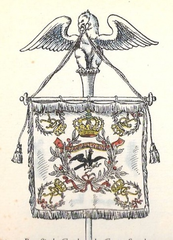 Arms of Garde du Corps, Germany