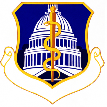 Coat of arms (crest) of the Malcom Grow USAF Medical Center, US Air Force