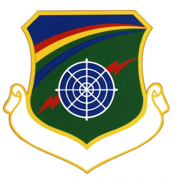 Coat of arms (crest) of the 6010th Aerospace Defense Group, US Air Force
