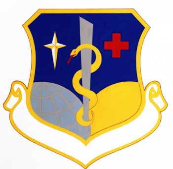 Coat of arms (crest) of the USAF Regional Hospital Minot, US Air Force