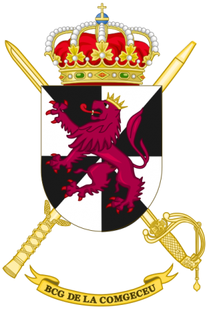 Ceuta General Command Headquarters Battalion, Spanish Army.png