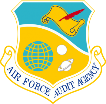Coat of arms (crest) of the Air Force Audit Agency, US Air Force