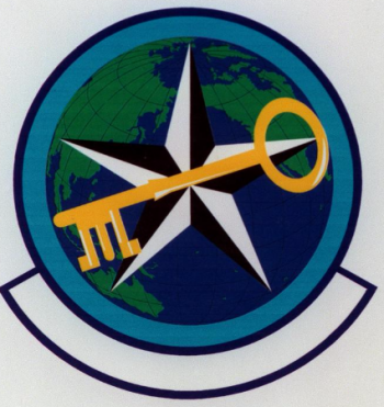Coat of arms (crest) of the Pacific Air Forces Air Intelligence Squadron, US Air Force