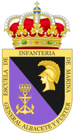 Naval Infantry School, Spanish Navy.png