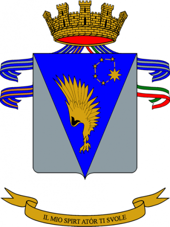 Coat of arms (crest) of the 5th Army Aviation Regiment Rigel, Italian Army