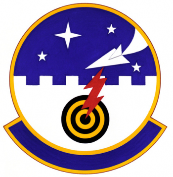 Coat of arms (crest) of the 4486th Fighter Weapons Squadron, US Air Force