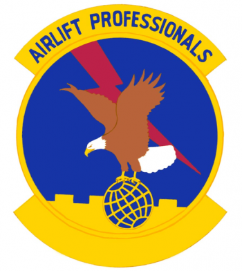 Coat of arms (crest) of the 56th Aerial Port Squadron, US Air Force