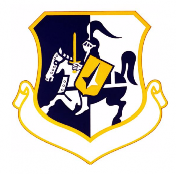 Coat of arms (crest) of the 7241st Airbase Group, US Air Force