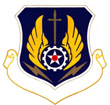 Coat of arms (crest) of the Logistics Operation Center, US Air Force