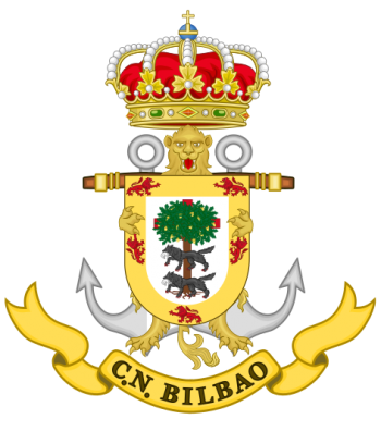 Coat of arms (crest) of the Naval Command of Bilbao, Spanish Navy