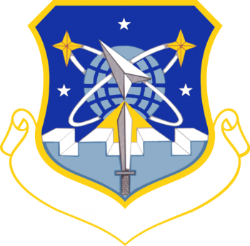 Coat of arms (crest) of the 1002nd Space Support Group, US Air Force