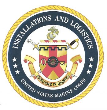 Coat of arms (crest) of the Installations and Logistics, USMC
