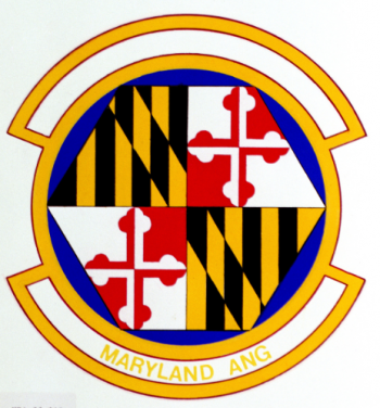 Coat of arms (crest) of the 135th Maintenance Squadron, Maryland Air National Guard