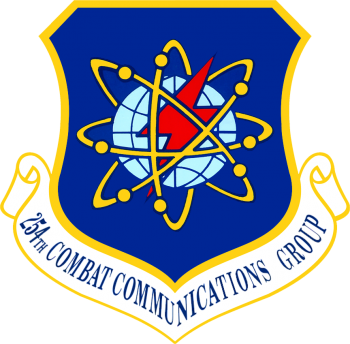 Coat of arms (crest) of the 256th Combat Communications Group, Texas Air National Guard