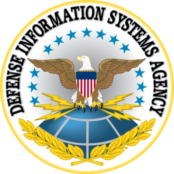 Coat of arms (crest) of the Defense Information Systems Agency (DISA), USA