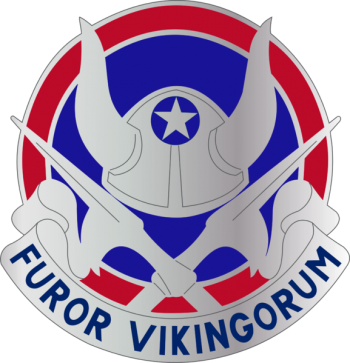 Arms of 47th Infantry Division Viking Division, USA