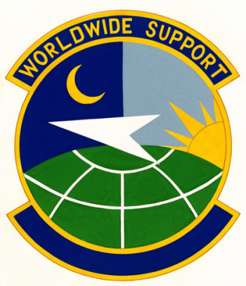 Coat of arms (crest) of the 92nd Aerial Port Squadron, US Air Force