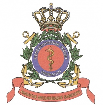 Coat of arms (crest) of the Naval Medical Service, Netherlands Navy