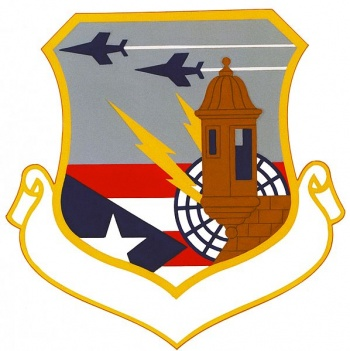 Coat of arms (crest) of the Puerto Rico Air National Guard, US