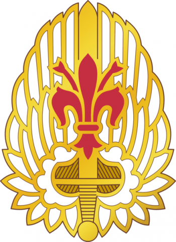 Arms of 52nd Aviation Regiment, US Army