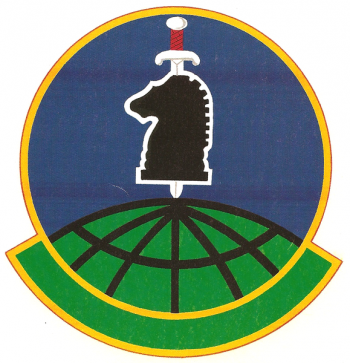 Coat of arms (crest) of the 10th Intelligence Squadron, US Air Force
