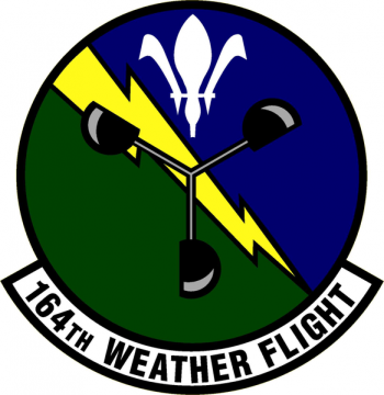 Coat of arms (crest) of the 164th Weather Flight, Ohio Air National Guard