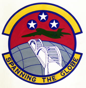Coat of arms (crest) of the 164th Aerial Port Squadron, US Air Force