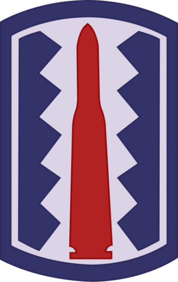 Arms of 197th Infantry Brigade, US Army