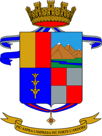 Coat of arms (crest) of the 26th Infantry Regiment Bergamo, Italian Army