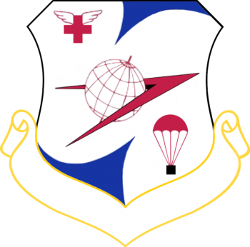Coat of arms (crest) of the 322nd Air Division, US Air Force
