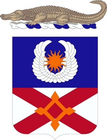 Coat of arms (crest) of the 111th Aviation Regiment, Florida Army National Guard