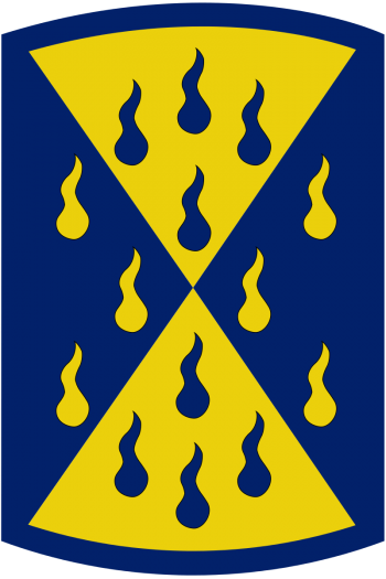 Arms of 464th Chemical Brigade, US Army