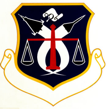 Coat of arms (crest) of the Air Force Systems Command Inspection Center, US Air Force