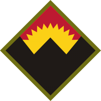 Coat of arms (crest) of the Anti Aircraft Artillery Command Western Defense Command, US Army