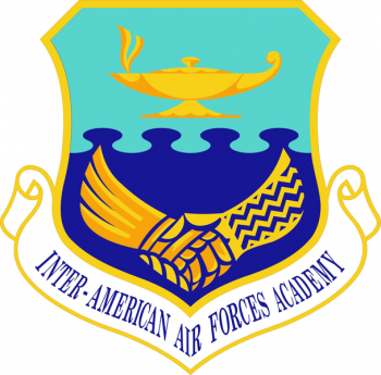 Coat of arms (crest) of the Inter-American Air Forces Academy, US Air Force
