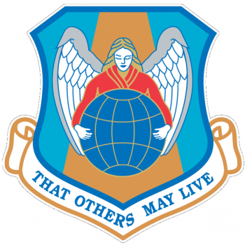 Coat of arms (crest) of the Aerospace Rescue & Recovery Service, US Air Force