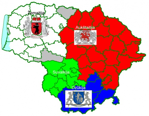 Lithuania regions COA map.jpg