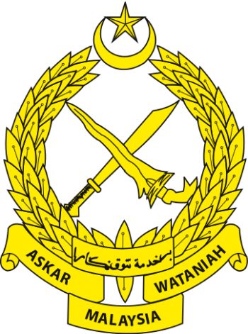 Coat of arms (crest) of the Territorial Army Regiment, Malaysian Army