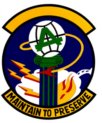 Coat of arms (crest) of the 1605th Civil Engineer Squadron, US Air Force