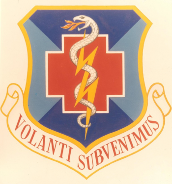 Coat of arms (crest) of the 809th Medical Group, US Air Force