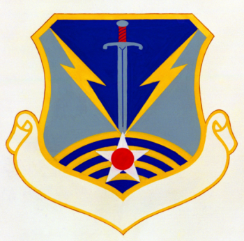 Coat of arms (crest) of the 12th Air Operations Group, US Air Force