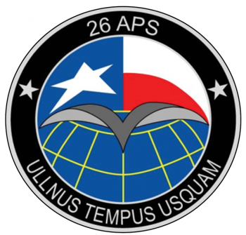 Coat of arms (crest) of the 26th Aerial Port Squadron, US Air Force