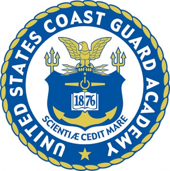 Coat of arms (crest) of the US Coast Guard Academy