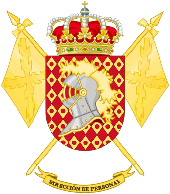 Coat of arms (crest) of the Personnel Directorate, Spanish Army