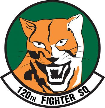 Coat of arms (crest) of the 120th Fighter Squadron, Colorado Air National Guard
