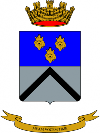 Coat of arms (crest) of the 5th Artillery Specialist Group Medea, Italian Army