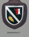 Jaeger Battalion 27, German Army.png