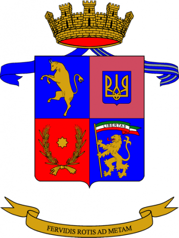 Coat of arms (crest) of the Railway Engineer Regiment, Italian Army