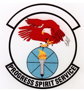 Coat of arms (crest) of the 17th Logistics Squadron, US Air Force