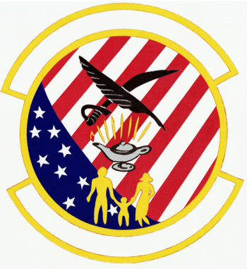 Coat of arms (crest) of the 3821st Air Command and Staff College Student Squadron, US Air Force